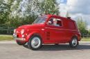 Paketiksi palautettu – Fiat 500 Van '61