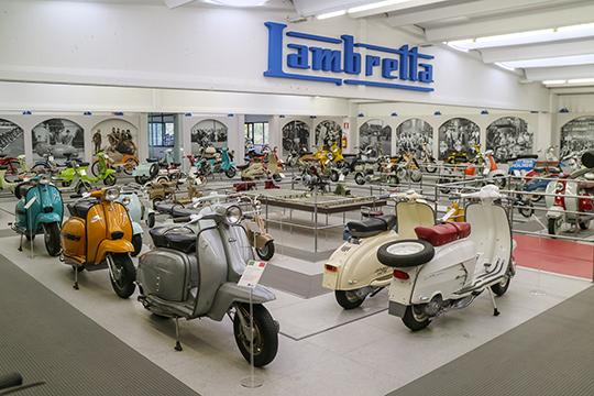 Museo Lambretta, Italia