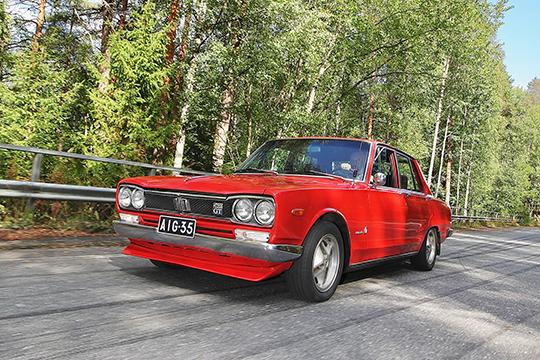 Suomalaisille suunnattu – Nissan 2400 GT '72