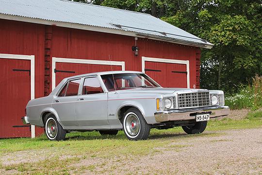 Varmaa kyytiä – Ford Granada '75